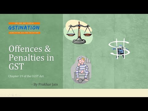 Offences and Penalties in GST