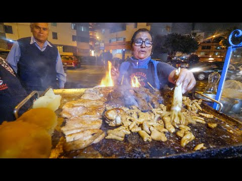 Street Food in Peru - ULTIMATE 14-HOUR PERUVIAN FOOD + Market Tour in Lima!