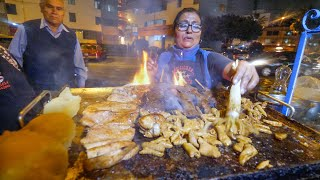 Street Food in Peru  ULTIMATE 14HOUR PERUVIAN FOOD + Market Tour in Lima!