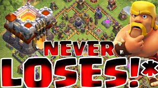 Clash Of Clans - TH11 (TOWN HALL 11) WAR TROPHY BASE NEVER LOSES 5X REPLAYS