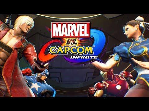 MARVEL VS CAPCOM INFINITE - Início da Campanha, em Português PT-BR! (PS4 Pro Gameplay)