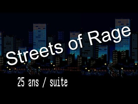 Streets of rage 25 ans / suite