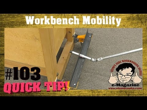 A better way to make your workbench mobile