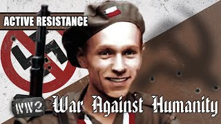 Poland Will Not Bow to Nazis & Stalinists - WW2 - War Against Humanity 010