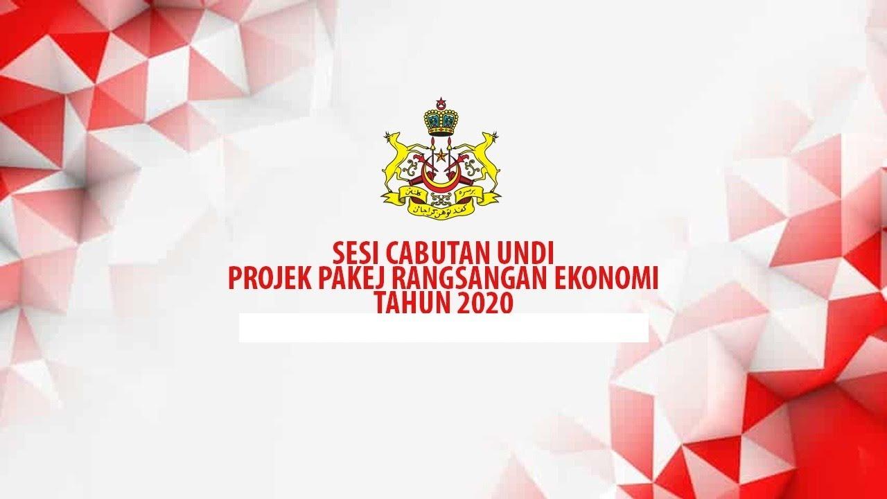 Sesi Cabutan Undi Projek Pakej Rangsangan Ekonomi Tahun 2020 PTJ Bachok