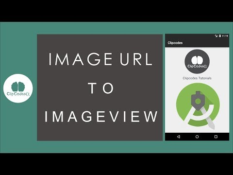 Url Image To Bitmap ImageView Android Tutorials