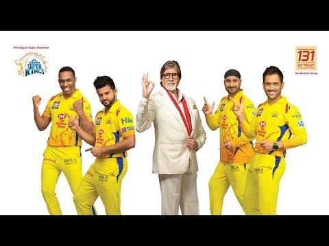 The Muthoot Group Roars ''Life Mein Aagey Badhiye'' with CSK & Amitabh Bachchan! [Hindi]