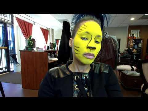 Avatar/Cats Fusion Makeup Tutorial thumbnail