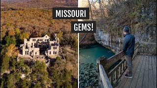 Castle ruins & sprİngs at Ha Ha Tonka State Park (Missouri) + trying more St. Louis foods!