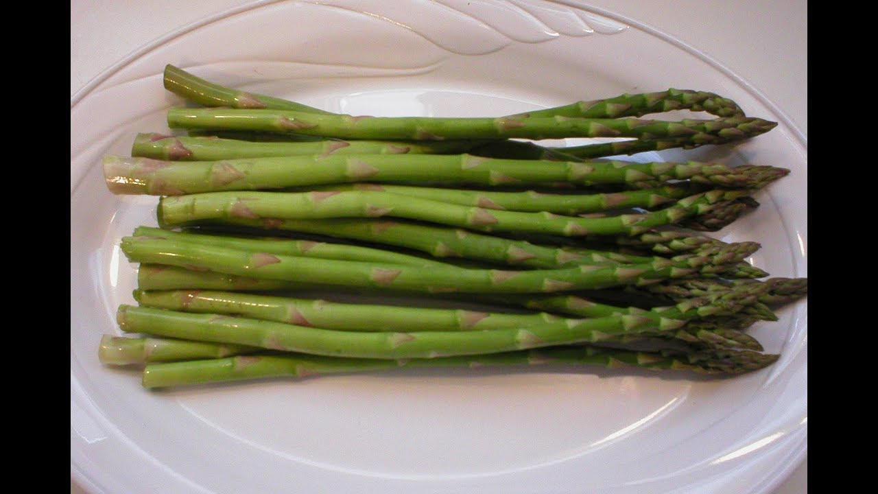 Asparagus 101 How To Freeze Asparagus Youtube