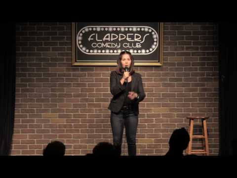 Mary Gallagher Hosting At Flappers Comedy Club