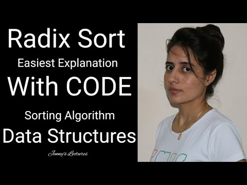 Sorting algorithm | Radix Sort - Easiest explanation with code | data structures thumbnail