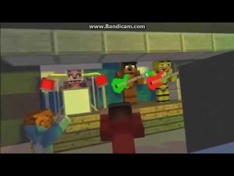 Майнкрафт 5 ночей с Фредди песня марионетки