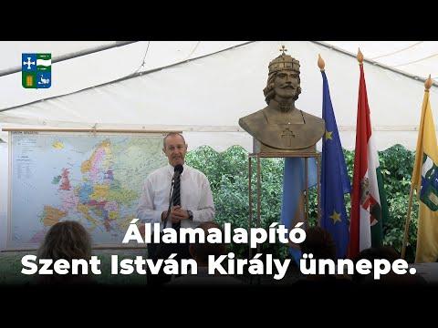 2021.08.21 - Államalapító Szent István Király ünnepe (Várai Róbert polgármester beszéde)
