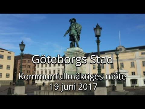 Göteborg kommunfullmäktige 2017-06-19
