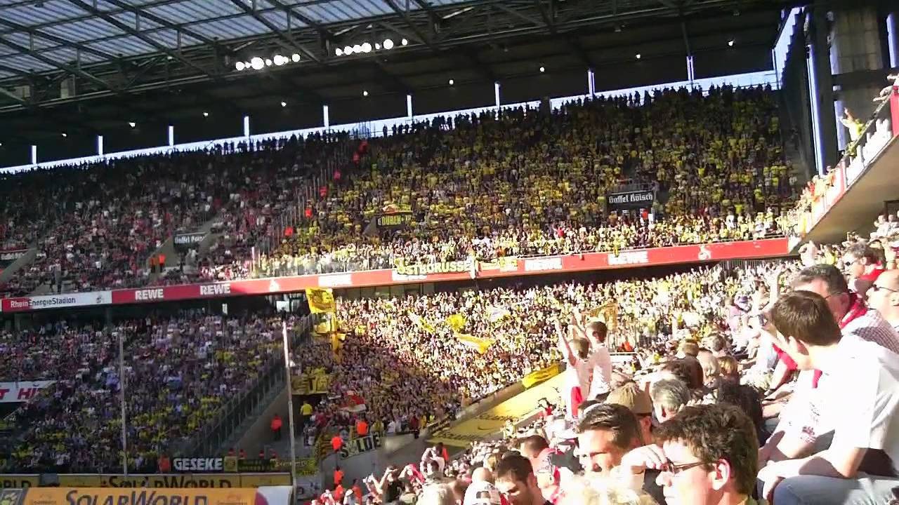 1. FC Köln - Borussia Dortmund 25.03.2012 - Impressionen