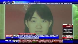 SMA Katolik Rajawali Doa Bersama untuk Korban AirAsia