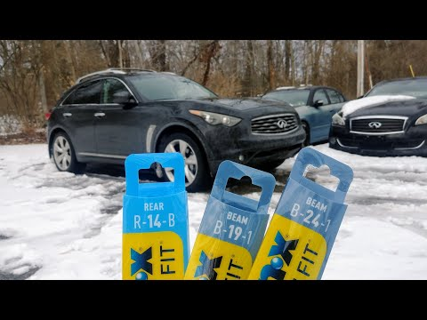 Front Wiper Blades. Infiniti FX Crossover SUV| How to Replace