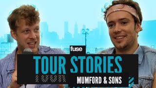 Mumford & Sons Played in a Toilet - Tour Stories