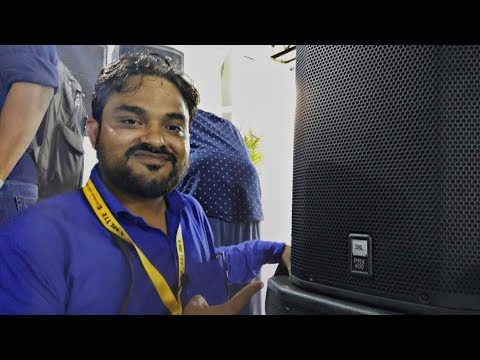 JBL Original PRX 400 With Prices Live From DJ Expo   Delhi Vlogs