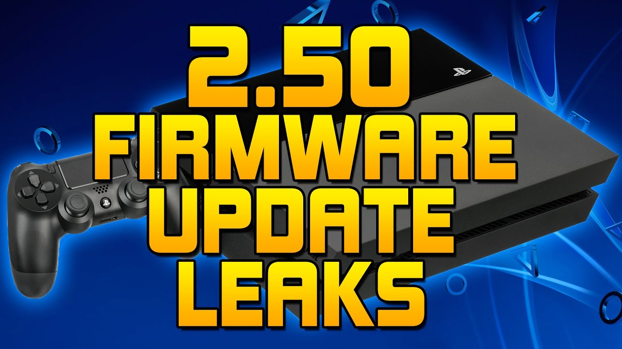 ps4 2 50 firmware update leaked features  supend  u0026 resume