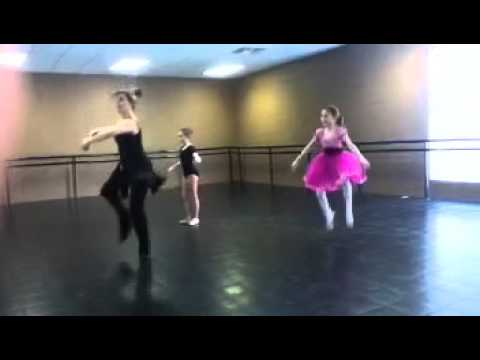 Brooklyn's ballet duo 2nd practice completed