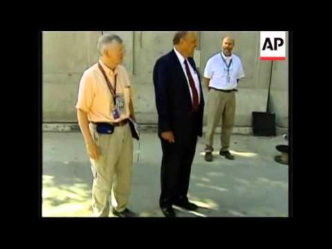 New US ambassador to Iraq tours embassy
