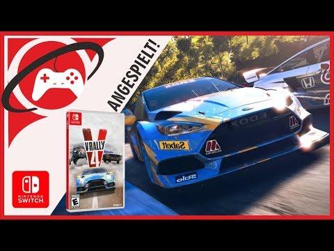 Endlich Wieder Rally! - V-Rally 4 Für Switch Angespielt