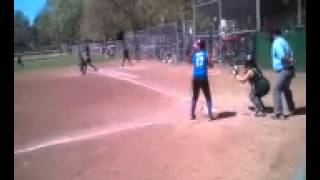 Very bad call by a so called Softball ump!!