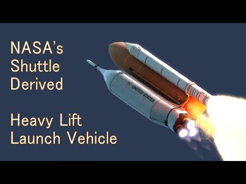 NASA's Shuttle-Derived Heavy Lift Launch Vehicle Concept