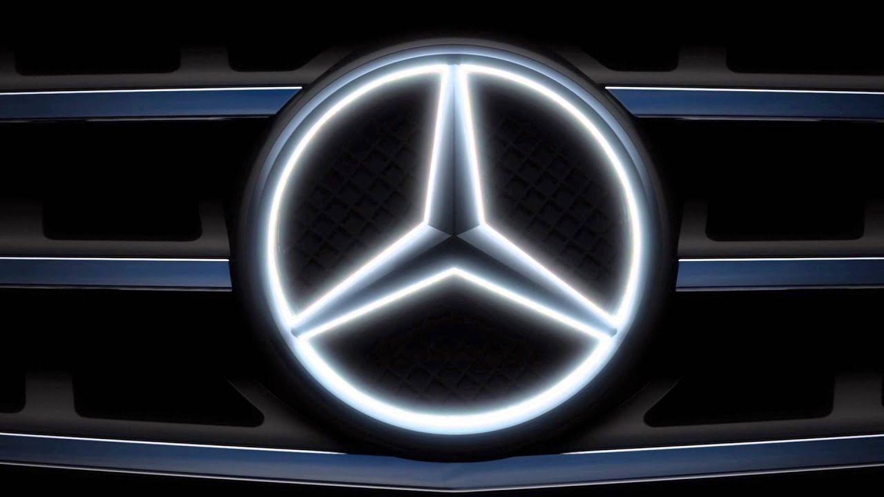 The illuminated star mercedes benz accessories youtube for Mercedes benz acc