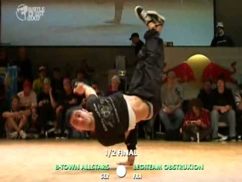 BOE'07 B Town Allstars vs Legiteam Obstruxion 1/2 final PART 1