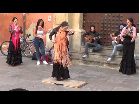 Flamenco Dance (5) In Granada 2015