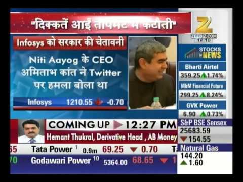 Infosys Get Warning From Government : Top 50 Shares
