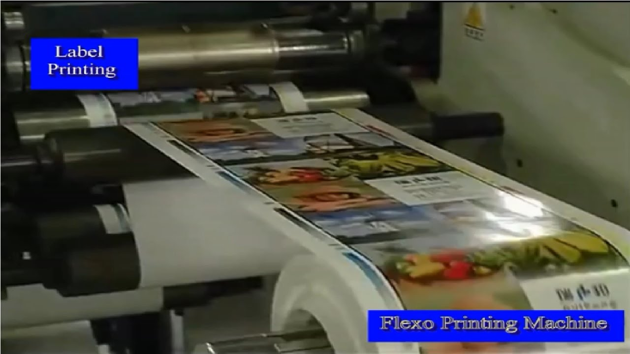 flexoprinting machine