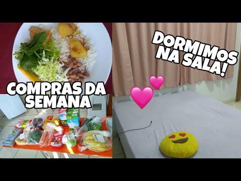 MINHA ROTINA, COMPRAS DA SEMANA, CUIDANDO DA CASA | Tati Barbosa thumbnail