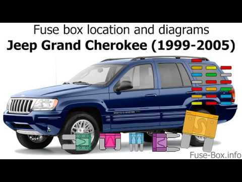 Fuse box location and diagrams: Jeep Grand Cherokee (1999-2005) - YouTubeYouTube