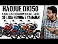 Haojue DK 150 - A moto street concorrente da CG e Factor