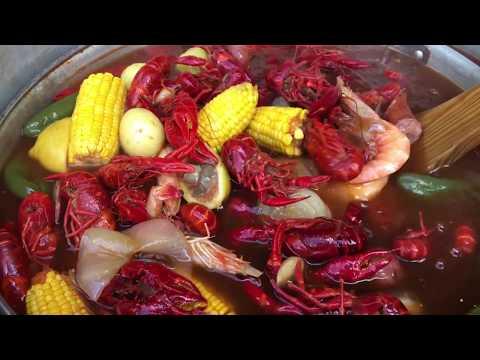 Jackson Family Crawfish Boil 5/20/2018