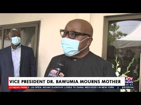 Vice President Dr Bawumia mourns mother - Joy News Prime (13-9-21)