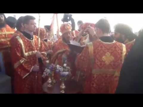 Освящение храма в честь святителя Николая чудотворца в Абалаке