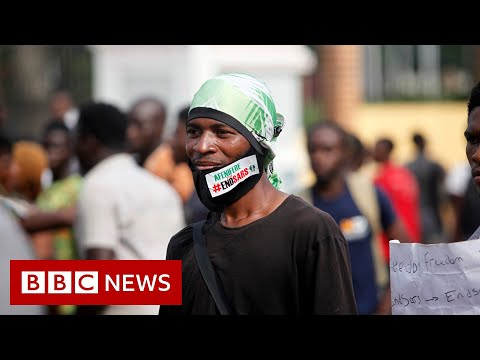 End Sars protests: People 'shot dead' in Lagos, Nigeria - BBC News