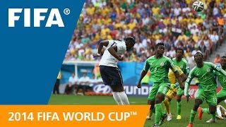 FIFA WC 2014 - France vs. Nigeria - International Sign