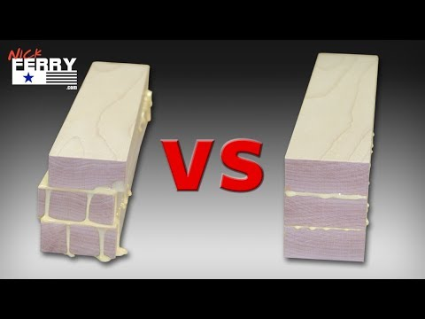 Gluing wood slabs together