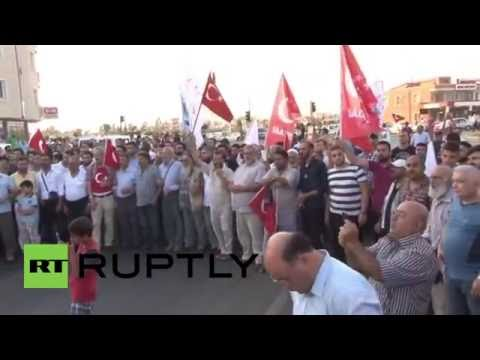 Turkey: Protesters outside Incirlik demand closure of US, NATO military base