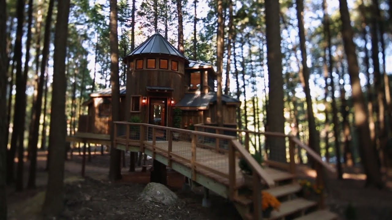 Building a Magical Dream Treehouse in Less Than a Month - YouTube on tree house interior, tree house builders tv show, tree house building plans, tree house hotel washington, tree house brewery, tree house floor plans, the ugliest creatures on planet, tree house friends, tree masters tree houses, tree houses from planet earth discovery,