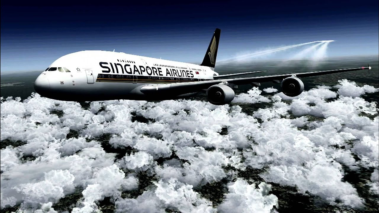 Singapore Airlines A380 HD A Trip To Paris Contest Entry