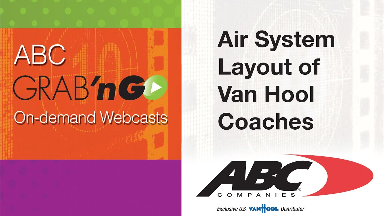 Gg011 Grab Ngo Air System Layout Of Van Hool Coaches
