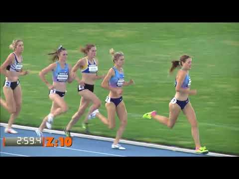 2017 Zatopek: Women 1500m