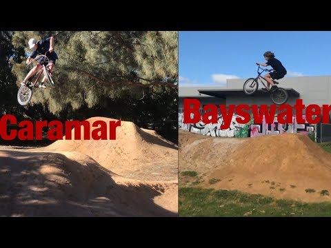 Bayswater/Carramar dirt jumps//EDIT!